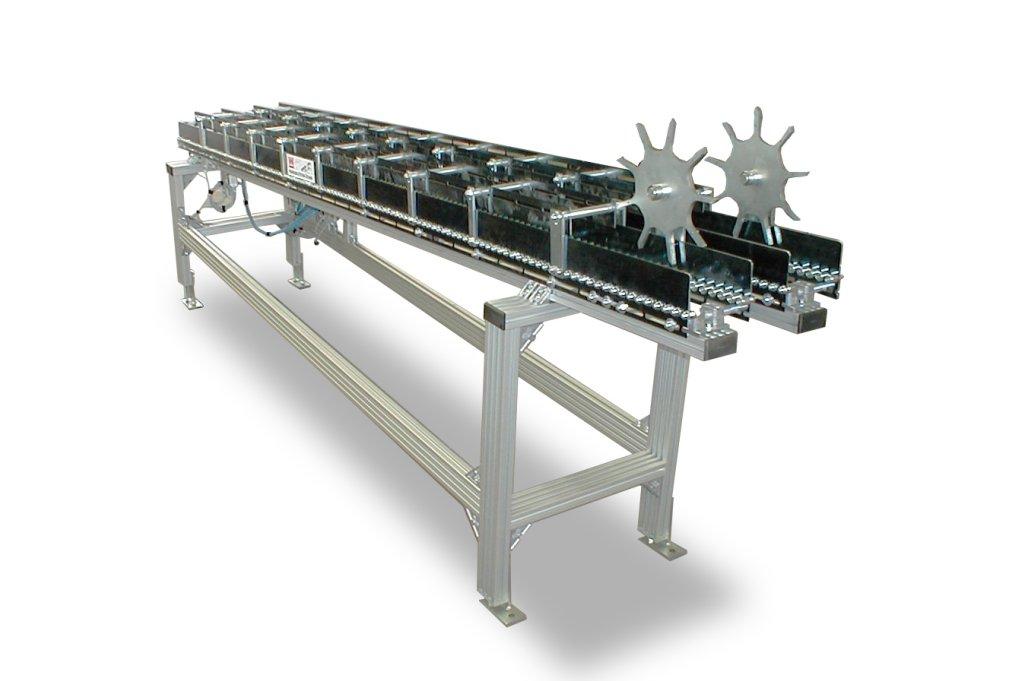 Schwerkraftrollenbahn
